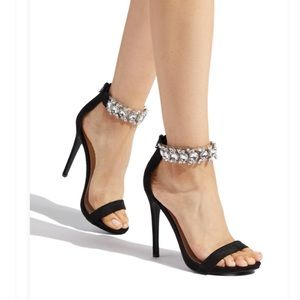 4ba16a2c91a Shoe Dazzle Shoes - SYDNEY EMBELLISHED STILETTO SANDals 👡